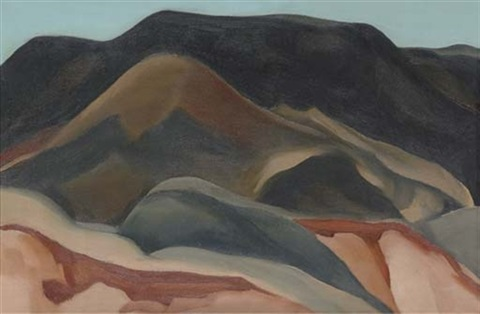 another place near abiquiu by georgia okeeffe