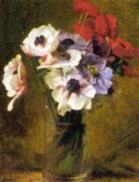 bouquet d'anémones by alexandre françois bonnardel