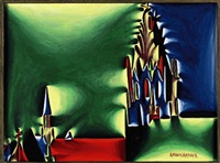 regensburg-dom (il duomo di ratisbona) by fritz baumgartner