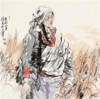 青稞 (tibetan) by xu zhan