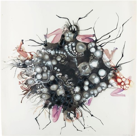 untitled from tumors series by wangechi mutu