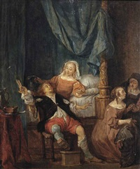 the parabel of the prodigal son by gabriel metsu
