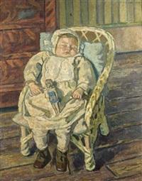 bébé dort by françois victor batigne
