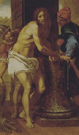 cristo alla colonna by fabrizio boschi