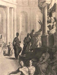 the presentation in the temple by adriaan de weerdt