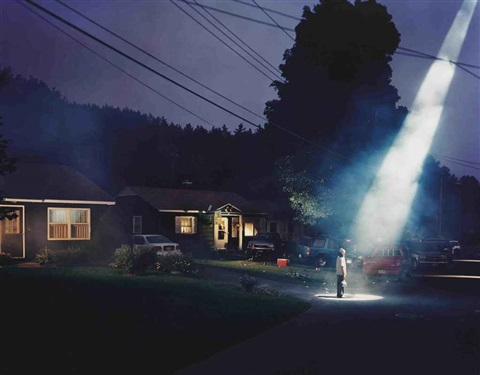 untitled (beer dreams) (from twilight) by gregory crewdson