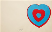 coeurs volants (fluttering hearts) by marcel duchamp