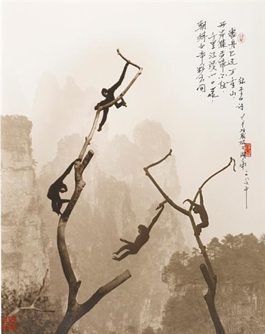 at play tianzi mountain by don hong oai