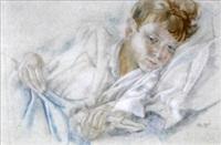 jeune garçon au livre by alix aymé