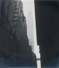 new-york, wall street by marcel arthaud