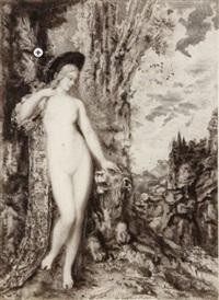 les fables de la fontaine (complete set) by gustave moreau