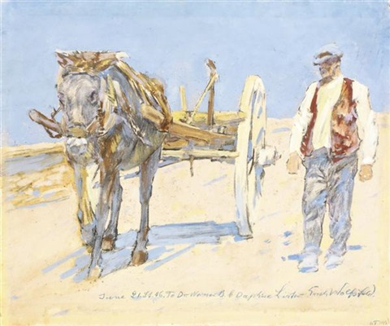 la charrue by erich wolsfeld