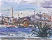 view of piraeus by panos fidakis