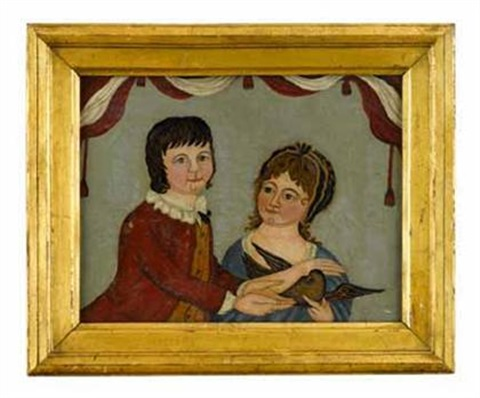 portrait of the children of lord gosford by anglo american school 19