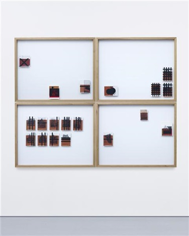 untitled in 4 parts by wade guyton
