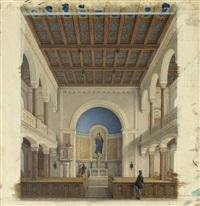das evangelische bethaus zu marienbad in böhmen by eduard daege