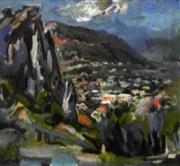 la ville de goris (sud de l'arménie) by razmik agopian