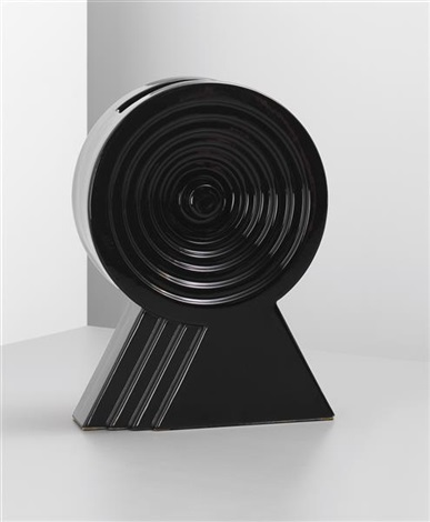 vase model no y34 from the yantra series by ettore sottsass