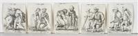 lahmende bettler und bettlerinnen tanzend (10 works) by cornelis massys