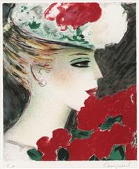 profil aux roses no.2 by jean-pierre cassigneul