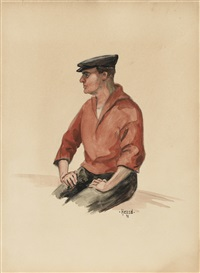 pêcheur d'ostende by hergé