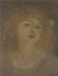aurelia, the golden by matthijs maris