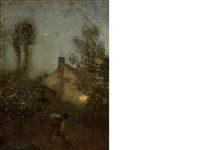 an evening in spring by sir george clausen