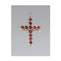 latin cross pendant by william welstead
