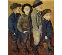 four boys by josef miklos