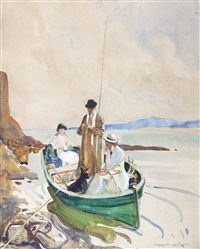 fly fishing from a boat by frederic whiting