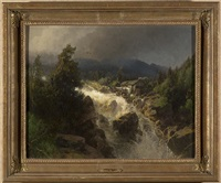 norwegian mill by hermann herzog