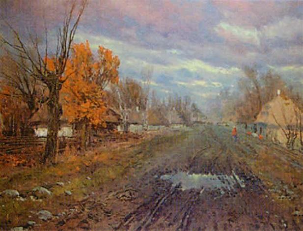 country road by jan grubinski