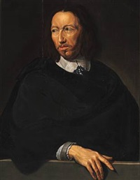 portrait of a distinguished gentleman by philippe de champaigne