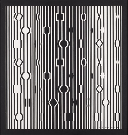 metamor by victor vasarely