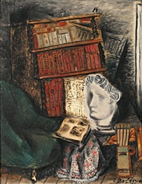 la bibliothèque by zygmunt dobrzycki