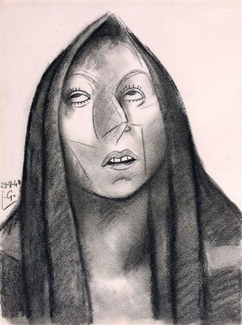 vierge de douleur by julio gonzález