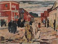 pogrom in der kleinstadt by alfred sohn-rethel