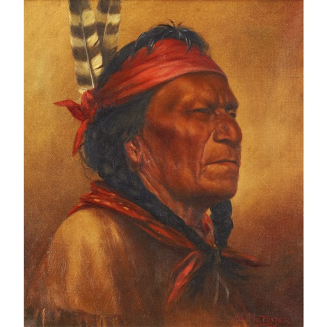 portrait of an elder by henry metzger