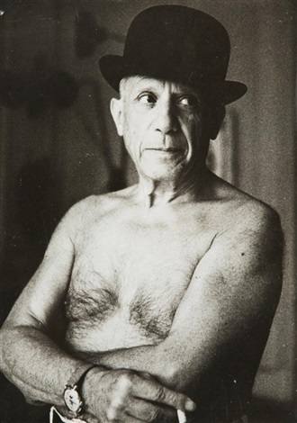 pablo picasso à cannes by jacques henri lartigue