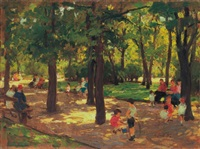 in the park by ferenc gaal
