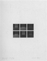 mechano optische untersuchung, serie 9.1.1971 by karl martin holzhäuser