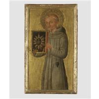 saint bernardino of siena by pietro di giovanni d' ambrogio