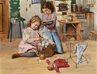 spielende kinder by clemens duniecki