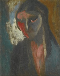 portrait of lilian by david bomberg