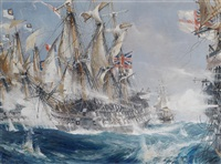 a naval battle by jack spurling