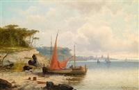 die prinzeninsel bei istanbul by a. kaufmann