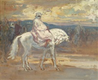 les cavaliers arabes by louis-ferdinand antoni
