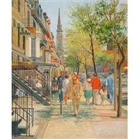 midi, rue st. denis by andris leimanis