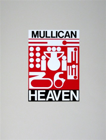 heaven from minimal times 5 5 mal streng by matt mullican