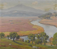tide stream, mount tamalpais by charles l.a. smith